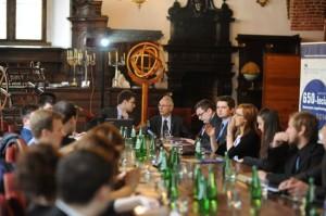 Uroczyste posiedzenie Rady Studentów PSRP